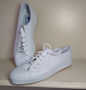 Keds white sneakers SZ 7½